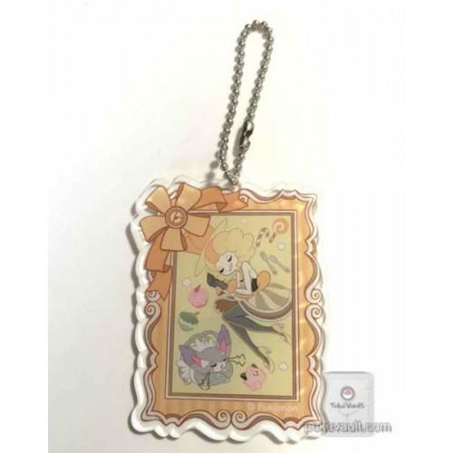 Pokemon Center 2015 XY Heroine Collection Nita Plastic Keychain (Version #1)