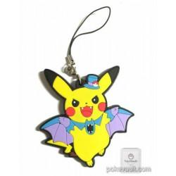 Pokemon Center 2015 Halloween Parade Campaign Pikachu Golbat Rubber Strap