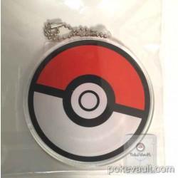 Pokemon Center 2015 Pokeball Acrylic Plastic Character Keychain