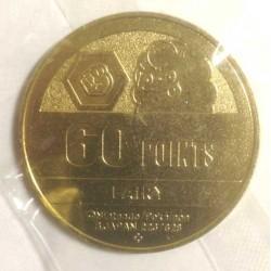 Pokemon 2013 Pokemon XY Medal Collection Swirlix Metal Coin #16 Ultra Rare Gold Version