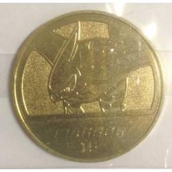 Pokemon 2013 Pokemon XY Medal Collection Talonflame Metal Coin #15 Ultra Rare Gold Version