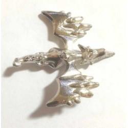 Pokemon 2014 Metal Collection XY#2 Mega Aerodactyl Figure (Silver Version)