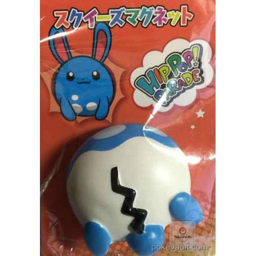 Pokemon Center 2015 Hip Hop Parade Campaign Azumarill Squeezable Magnet