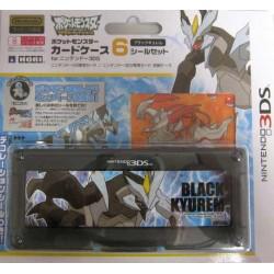 Pokemon Center 2012 Nintendo 3DS/DSiLL/DSi/DS Lite Black Kyurem Game Cartridge Storage Case