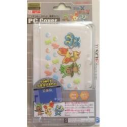 Pokemon Center 2013 Nintendo 3DSLL Pokemon X and Y Chespin Fennekin Froakie Double Sided PC Hardcover