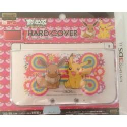 Pokemon Center 2013 Nintendo 3DSLL Eevee Pikachu Single Sided Hardcover