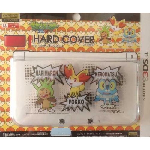 Pokemon Center 2013 Nintendo 3DSLL Chespin Fennekin Froakie Single Sided Hardcover