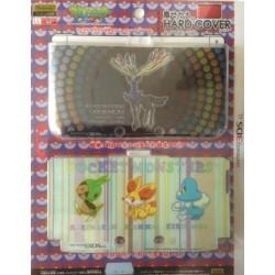Pokemon Center 2013 Nintendo 3DSLL Xerneas Chespin Fennekin Froakie 2 Interchangeable Single Sided Hardcover Set