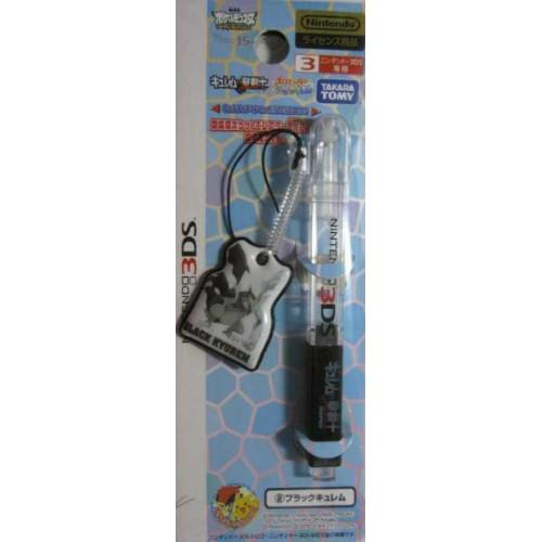 Pokemon Center 2012 Nintendo 3DS/DSiLL/DSi/DS/Lite Black Kyurem Movie Version Touch Pen