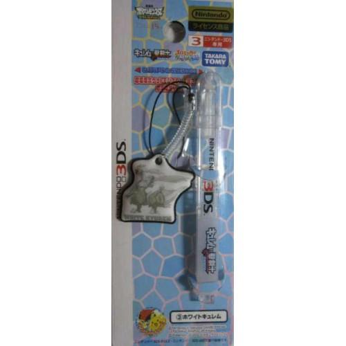 Pokemon Center 2012 Nintendo 3DS/DSiLL/DSi/DS/Lite White Kyurem Movie Version Touch Pen