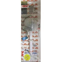 Pokemon Center 2012 Nintendo 3DS/DSiLL/DSi/DS Lite/DS White Kyurem Mascot Extendable Touch Pen