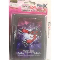 Pokemon Center 2013 Nintendo 3DS/DSiLL/DSi/DS Lite Pokemon X and Y Yveltal Game Cartridge Storage Case