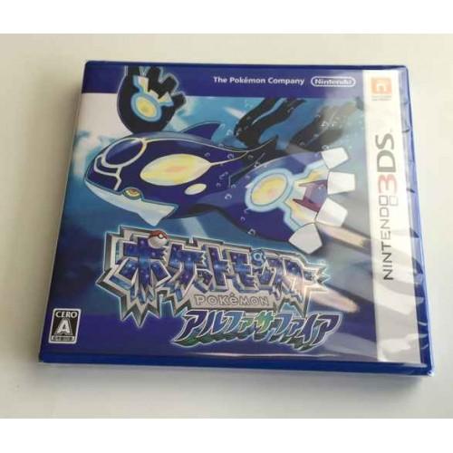 Pokemon 2014 New Nintendo 3DS Alpha Sapphire Game Cartridge (Japanese)