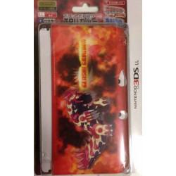 Pokemon Center 2014 Nintendo 3DSLL Primal Groudon Double Sided TPU Hardcover