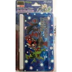 Pokemon Center 2014 Nintendo 3DSLL Mega Sceptile Blaziken Swampert Double Sided Hardcover