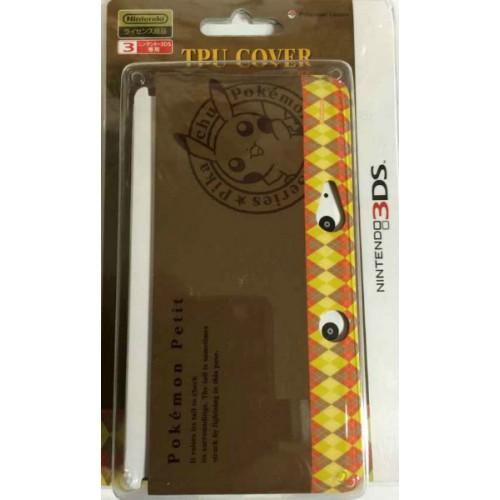 Pokemon Center 2014 Nintendo 3DS Pokemon Petit Pikachu Double Sided TPU Hardcover