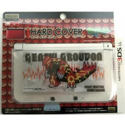 Pokemon Center 2014 Nintendo 3DSLL Primal Groudon Single Sided Hardcover