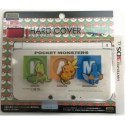 Pokemon Center 2014 Nintendo 3DSLL Mudkip Torchic Treecko Single Sided Hardcover