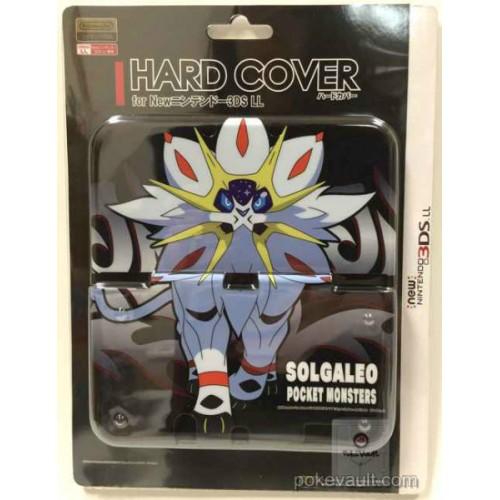 Pokemon Center 2016 New Nintendo 3DSLL Solgaleo Double Sided Plastic Hardcover (Version #2)