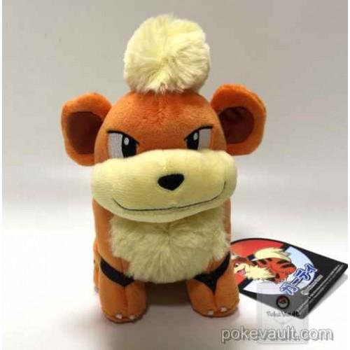 Pokemon Center 2016 Growlithe Plush Toy