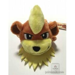 Pokemon Center 2016 Kuttari Series #6 Growlithe Bean Bag Plush Toy (Awake Version)
