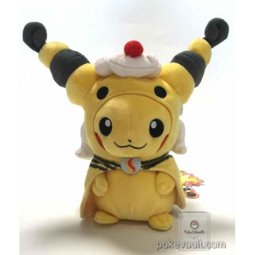 Pokemon Center 2016 Poncho Pikachu Campaign #2 Mega Ampharos Plush Toy