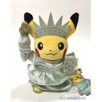 Pokemon Center 2016 World Pikachu Campaign #1 Pikachu Plush Toy (USA)