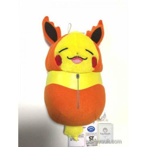 """BANPRESTO Pokemon Plush Pikachu Nebukuro Sleeping Bag Flareon 7/"""""""
