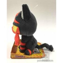 Pokemon 2016 Takara Tomy Litten Medium Size Plush Toy