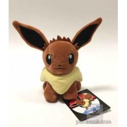 Pokemon Center 2016 Eevee Plush Toy (New Version)