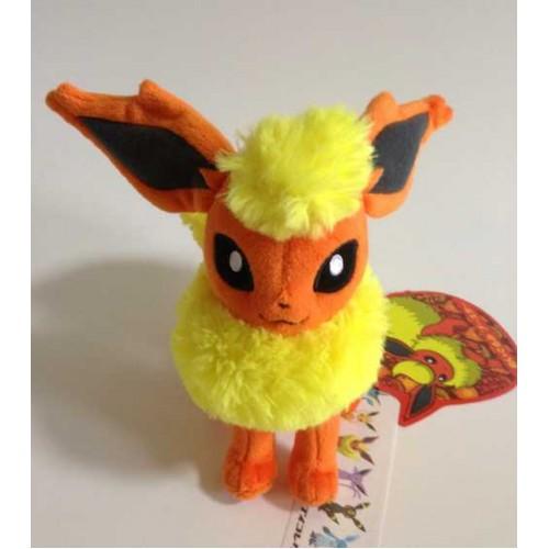 Pokemon Center 2012 Eevee Collection Flareon Standing Plush Toy