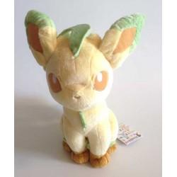 Pokemon 2013 Banpresto UFO Game Catcher Prize I Love Eievui Series Leafeon DX Plush Toy