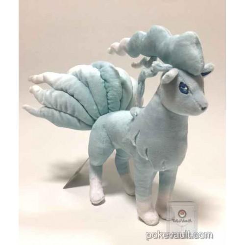 Pokemon Center 2017 Alolan Ninetales Plush Toy