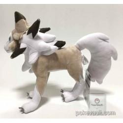 Pokemon Center 2017 Lycanroc Midday Form Plush Toy
