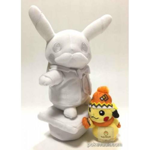 Pokemon Center Sapporo 2016 Renewal Opening Snow Festival Campaign William S. Clark Pikachu Snow Sculpture Plush Toy