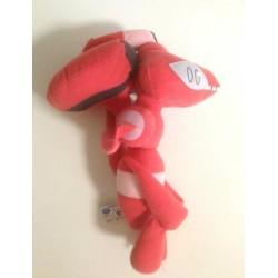 Pokemon 2013 Banpresto UFO Game Catcher Prize Red Genesect Large Size Movie Version Plush Toy