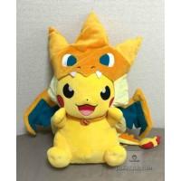 Pokemon Center Mega Tokyo 2015 Grand Opening Pikachu Pikazard Large Size Plush Toy
