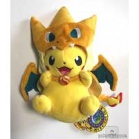 Pokemon Center Mega Tokyo 2014 Grand Opening Pikachu Pikazard Plush Toy (Version #2)