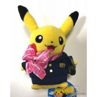 Pokemon Store Narita Airport 2015 Flight Attendant Pikachu Plush Toy