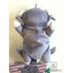 Pokemon Center 2015 Kuttari Series #2 Espurr Bean Bag Plush Toy (Awake Version)