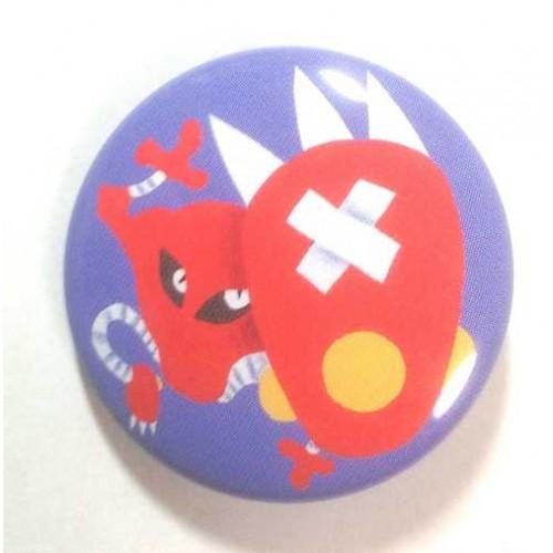 Pokemon Center 2013 15th Anniversary Hitmonlee Metal Button
