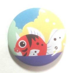 Pokemon Center 2013 15th Anniversary Seaking Metal Button