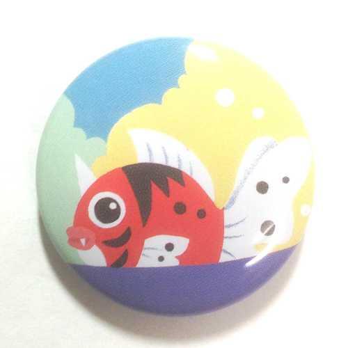 Pokemon Center 2013 15th Anniversary Seaking Tin Can Badge