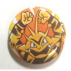 Pokemon Center 2013 15th Anniversary Electabuzz Metal Button