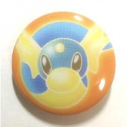 Pokemon Center 2013 15th Anniversary Dratini Metal Button