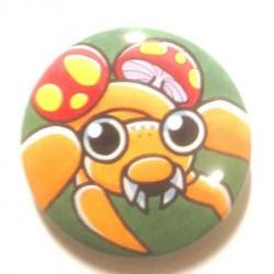 Pokemon Center 2013 15th Anniversary Paras Metal Button