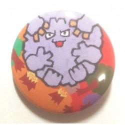 Pokemon Center 2013 15th Anniversary Graveler Metal Button