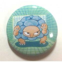 Pokemon Center 2013 15th Anniversary Golem Metal Button