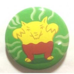 Pokemon Center 2013 15th Anniversary Drowzee Metal Button