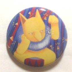 Pokemon Center 2013 15th Anniversary Hypno Metal Button